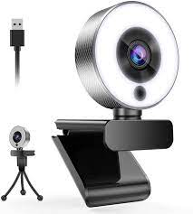 Buy Belnk A9S Webcam with Ring Light, FHD 1080P Webcam with Microphone and  Streaming Webcam, Plug and Play Web Camera, Adjustable Brightness, USB  Webcam for PC Laptop Mac, Zoom (Webcam) Online in