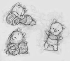 Winnie The Pooh Drawings Things To Draw Disegni A Matita
