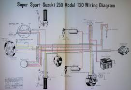 the suzuki t20 super six x6 wiring diagram