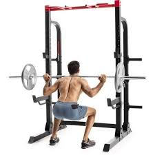 Weider Pro 7500 Power Rack With Exercise Chart