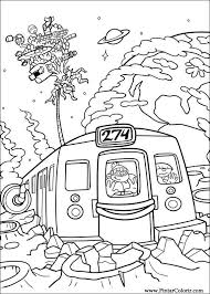 picture to paint for kids. Contemporary Picture Paint U0026 Colour Kids Next Door  Drawing 010 To Picture For I