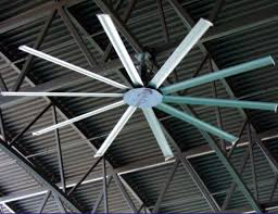 industrial ceiling cleaning fan