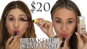 20 makeup challenge we went to target ulta