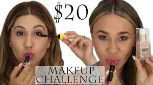 20 makeup challenge we went to target ulta