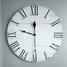 24 inch wall clock target medium image for inch atomic outdoor wall clock wood clock wood