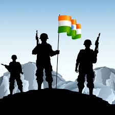 ᐈ indian army logo stock pictures