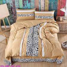 luxury y black white and light tan leopard print animal themed jungle safari boys twin full queen size bedding sets