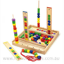 Wooden Bead Game Mesmerizing Wooden Bead Sequence Game My Wooden Toys