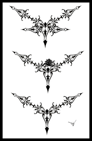 Collection of 25 Gothic Frame Tattoo Design
