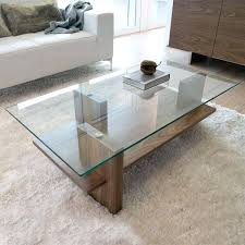 glass and wood coffee tables a great example of a modern glass wood coffee table the glass and wood coffee tables