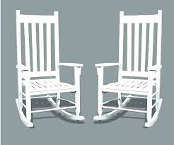 white wooden rocking chair. Wooden Rocking Chairs For Porch Wood Rockers Outside Outdoor Design White Chair