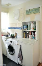 unfinished basement laundry room makeover. Laundry Room Makeovers On A Budget Makeover Before  . Unfinished Basement S