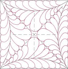 671 best Quilting: Stipple Plus images on Pinterest | Free motion ... & The basic free form feather block with feathers added to the outside  arches. Quilting TemplatesMachine ... Adamdwight.com