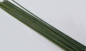 Paper Flower Stems Green Floral Wire 2 Paper Flower Stem 12pcs Ronde Flower Wire In