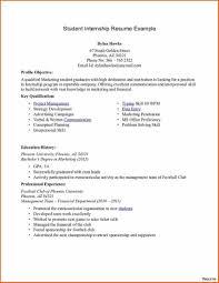 Resume Format For College Students Astounding Samples Internship ...