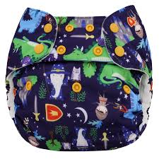 Blueberry Simplex All In One Excalibur Cloth Diapers