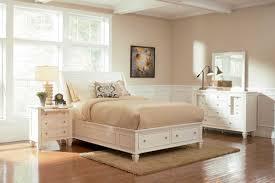 Light Bedroom Furniture Coaster Sandy Beach Light Platform Storage Bed 201309 At