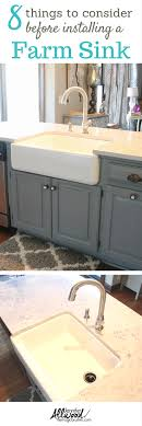 Farmhouse Sink Cabinet Farmhouse Sink Tips For Your Kitchen Installation