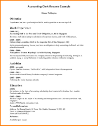4 Account Assistant Resume Format In Word Cashier Resumes