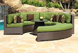 rounded outdoor sectional curved sectional outdoor circular sectional patio furniture