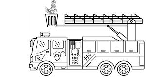 Tổng hợp các bức tranh tô màu xe cứu hỏa đẹp - Chia sẻ 24h