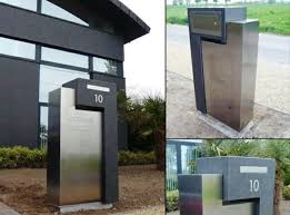 Best 25 Modern Mailbox Ideas On Pinterest Contemporary Mailboxes
