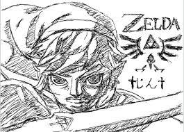 ゼルダの伝説 リンク マウスで書いてみた じん さんのイラスト