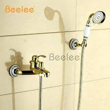 delta shower cartridge types shower faucet types wall mounted golden brass bathroom bathtub faucet handheld