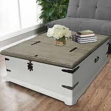 farmhouse coffee table with storage
