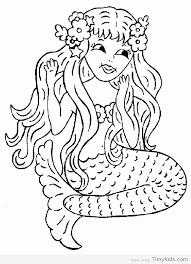 Free Printable Mermaid Coloring Pages Timykids
