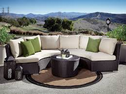 add to wishlist sunset west solana 3 piece curved wicker sectional set 3 285 48 low guarantee