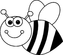 Tô màu Con Ong Đáng Yêu - Trang Tô Màu Cho Bé