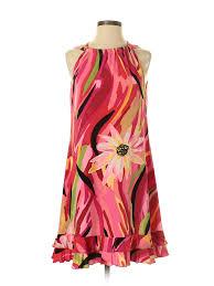 Msk Dresses Size Chart Details About Msk Women Pink Casual Dress 4