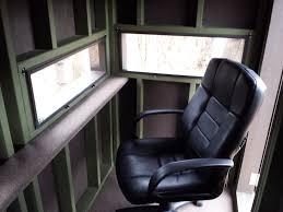 Deer Blind Interior Design Hinge Window 2 2 Deer Hunting Blinds Hunting Blinds