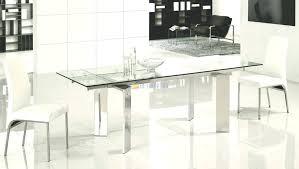 glass extendable dining table lovely modern glass extendable dining table home kitchen cabinets ideas with modern glass extendable dining table