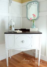 Sideboard Makeover w Java Gel & Chalk Paint Themed Furniture