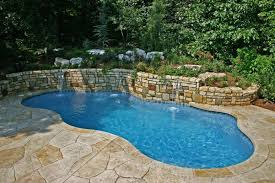 Inground Swimming Pool Designs Ideas Back Yard Catpillowco Magnificent Built In Swimming Pool Designs