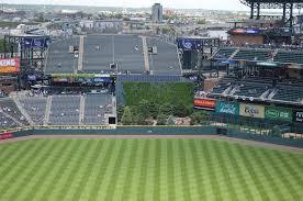 Coors Field Colorado Rockies Ballpark Ballparks Of Baseball