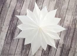 Diy Sterne Aus Butterbrotpapier Und Tapete Happy Serendipity