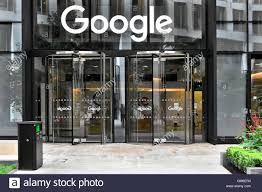 office entrance doors. Glass Doors To Google Offices With Sign Above Revolving Entrance Door New Office Block In Kings Cross London England UK O