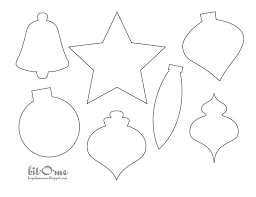 felt christmas templates ornaments - Google Search
