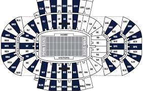 Penn State Ice Hockey Arena Seating Chart Credible Penn State Hockey Seating Chart Nittany Lion