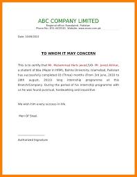 certification letter 12 format certification letter 952 limos