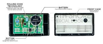 chamberlain garage door opener keypad security remote sears