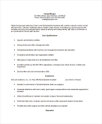 Entry Level Administrative Assistant Resume Example