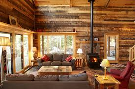 Get Cozy A Rustic Lodge Style Living Room Makeover