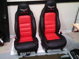 advise on c6 seat covers or refirb
