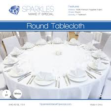 1 pc 70 round cloth fabric linen tablecloth white wedding restaurant av