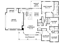 Floor Plan Ranch Style House Plans Home Design Kevrandoz