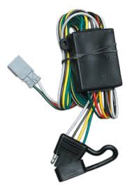 u haul cqt118336 4 flat with factory style vehicle tow harness 2015 Acura MDX at 2014 Acura Mdx Trailer Wiring Harness